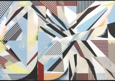 Jaime Gili, Zacca V (Zacca-Ouled), 2016, Acrylic-on-linen, 82.7 x 118 in.